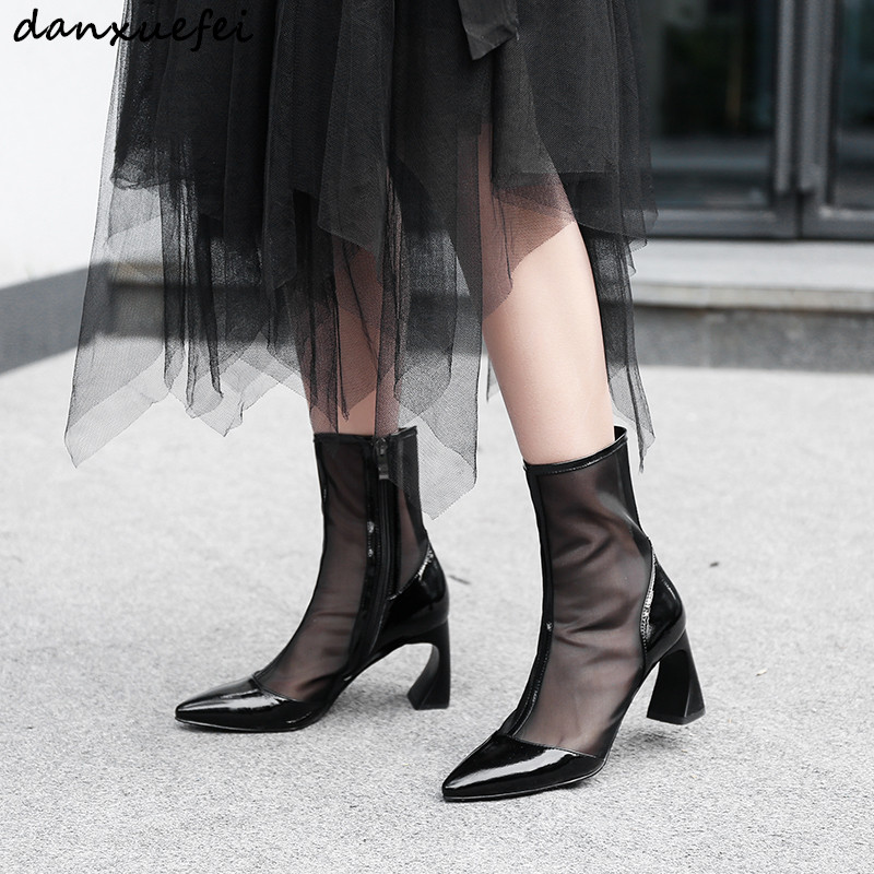 Maille Pour Femmes Chaussures 42 Mi black Bottes Nouvelle Balck De Femelle Printemps Hauts Hautes Short Long Grande À Comfrotable Black Talons mollet Taille Épais 33 qRtwtXH