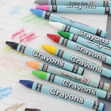 8/12/24 Colors Wax Crayon Stick Kid Painting Drawing Sketching Art Tool Office School Supply