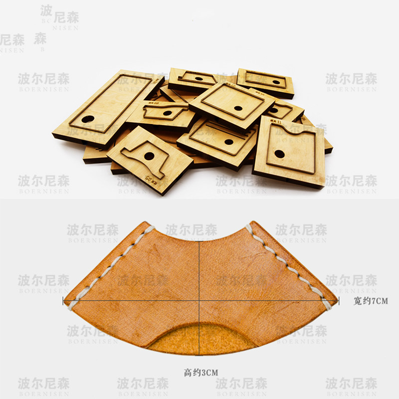 Leather Dies Cutter Japan Steel Blade Rule Die Cut Steel Punch BookMark Cutting Mold For Leather Crafts 30x70mm