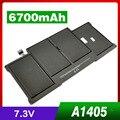 """6700 мАч Аккумулятор для Ноутбука Apple Macbook Air 13 """"A1369 A1377 A1405 A1466 MC504 MC965 MC966 MD231 MD232"""