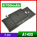 "6700mAh Laptop Battery for Apple Macbook Air 13"" A1369 A1377 A1405 A1466 MC504 MD231 MD232 MC965 MC966"