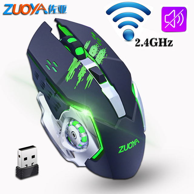 Silent Gaming Wireless Mouse