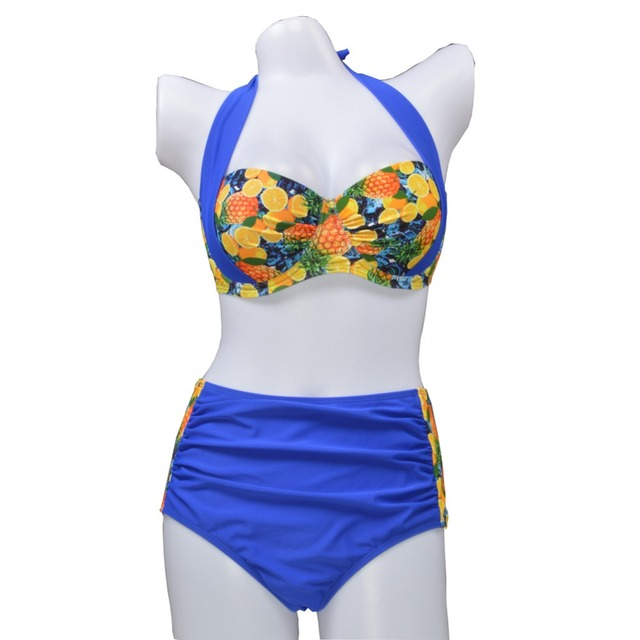 Women Bikini Bathing Swimsuit High Waist