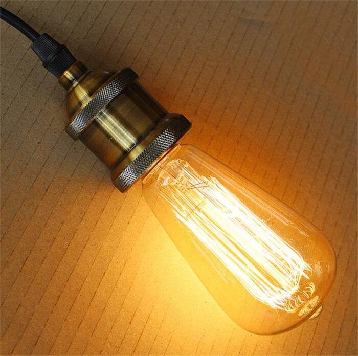 Lâmpadas Incandescentes lâmpadas incandescentes filamento edison retro Tratamento de Superfície de Cobertura de Vidro : Transparente