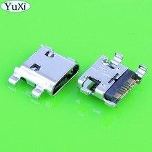 YuXi 50PCS For Samsung S3 Mini i9200 i8190 S7562 S7268 I8160 Charger Charging Connector Plug Port Micro USB Jack Charging Socket стоимость