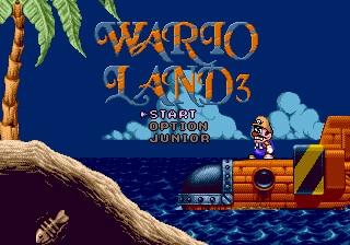 WarioLand 3 16 bit MD Game Card For Sega Mega Drive For SEGA Genesis