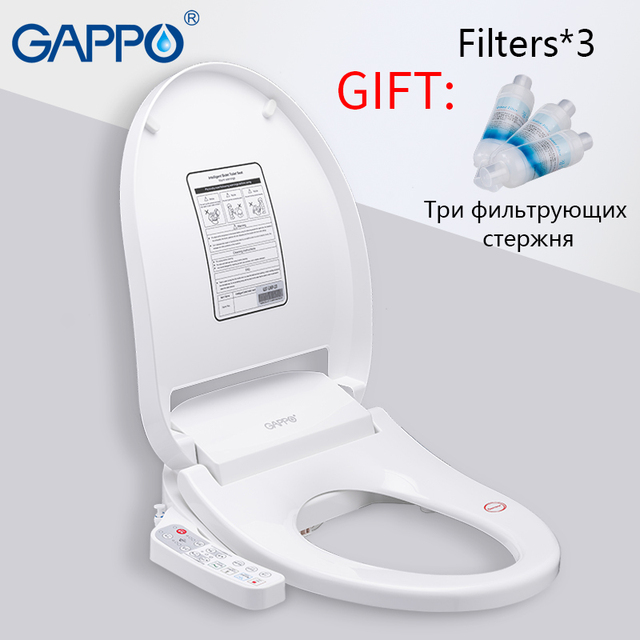 Prime Us 234 99 50 Off Gappo Toilet Seats Smart Bidet Toilet Seats Intelligent Clean Dry Toilet Cover Washlet Elongated Bidet Lid Cover Heated Sits In Pabps2019 Chair Design Images Pabps2019Com