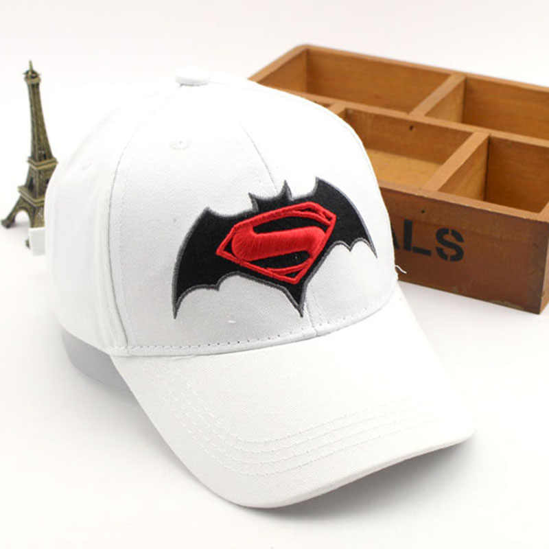 Anime Kartun Super Hero Superman Batman Baseball Caps Untuk Anak Boy Super Hero Hip Hop Topi Matahari Topi Luar Naungan Cap