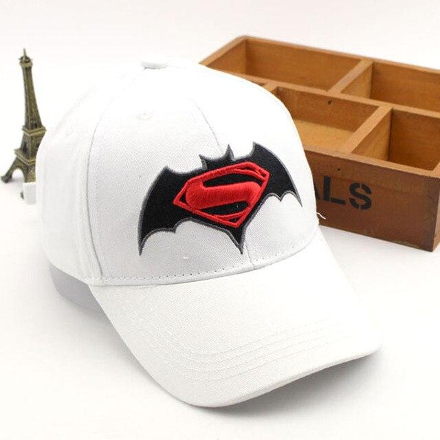 0d662f3608c Anime Cartoon Super Hero Superman Batman Baseball Caps For Children Boy  Super Hero Hip Hop Hats Sun Hat Outdoor Shade Cap