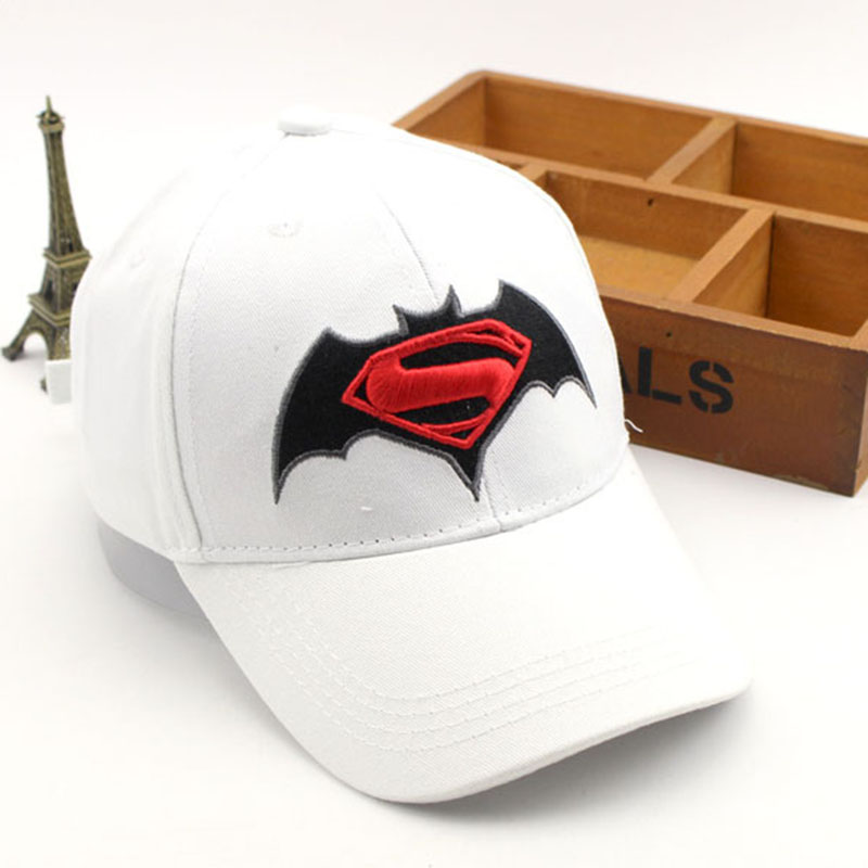 Anime Cartoon Super Hero Superman Batman   Baseball     Caps   For Children Boy Super Hero Hip Hop Hats Sun Hat Outdoor Shade   Cap