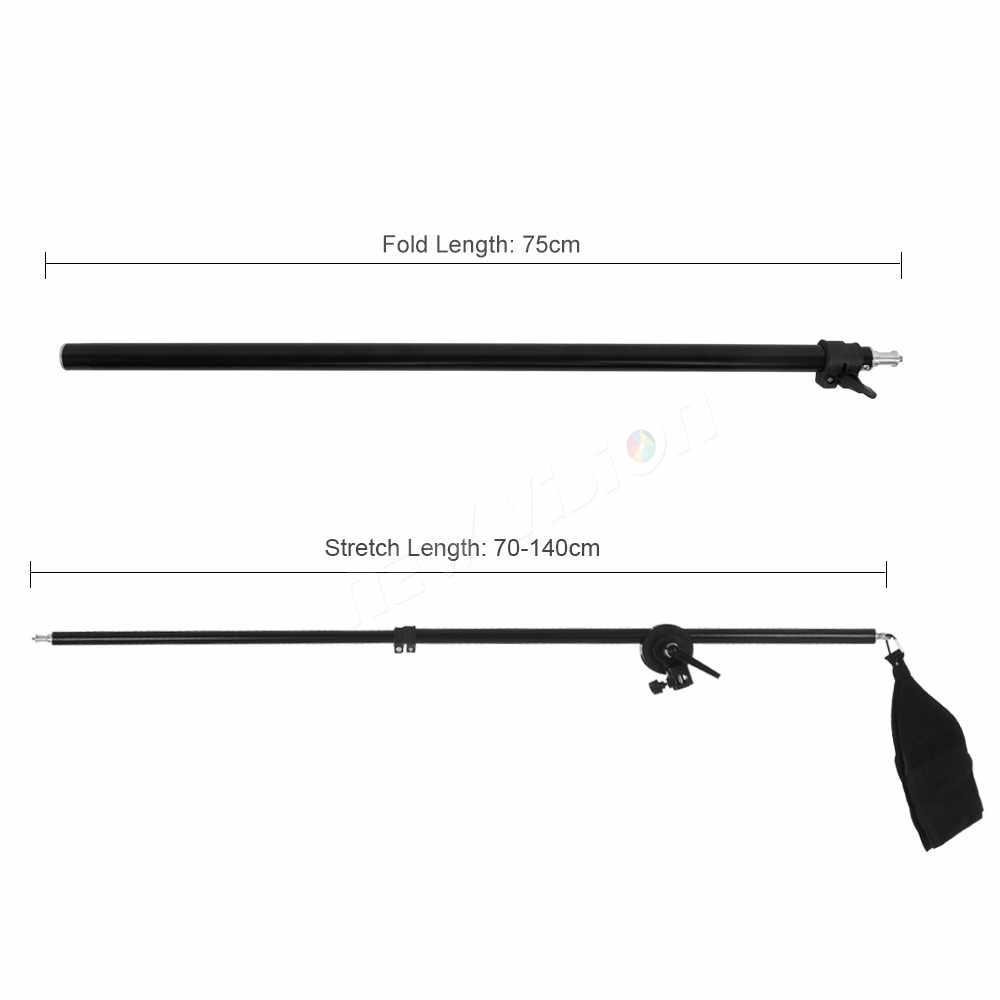 """75-140 см/30 """"-55"""" Студия фото телескопическая стрела рычаг верхний свет w/Sandbag для Speedlite/Мини Вспышка стробоскоп"""