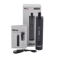 Original Yocan IShred Dry Herb Vaporizer Pen Kits 2600mah Battery Built In Herb Grinder Electronic