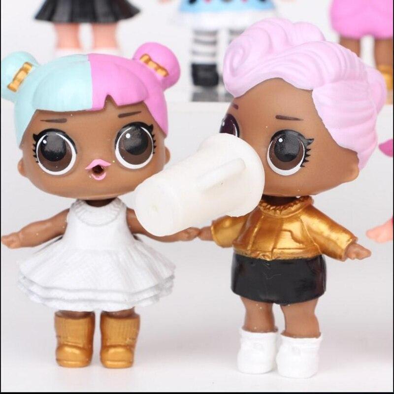 8 unids / lote LoL Desembalaje Muñecas de alta calidad Lol Dolls - Muñecas y accesorios - foto 4