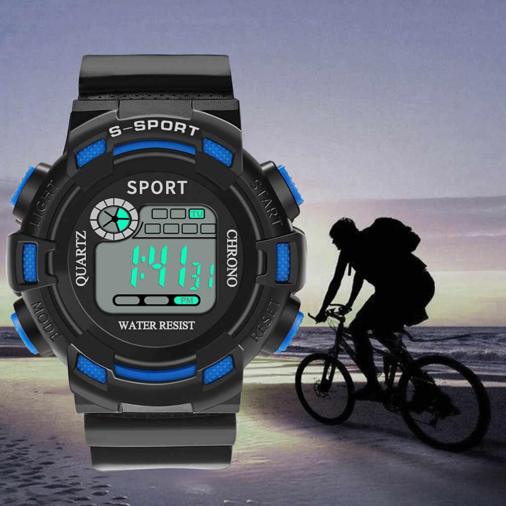 Sanwony יוקרה גברים אנלוגי דיגיטלי צבאי ספורט LED עמיד למים שעון יד חדש smart watch גברים ה-sim כרטיס שעוני יד שעון נשים