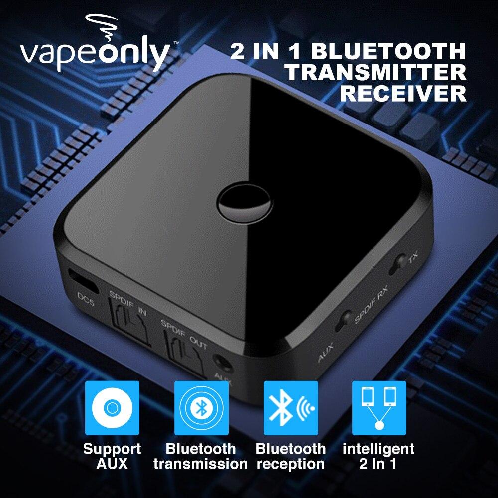 Funkadapter Realistisch Vapeonly 2in1 Bluetooth Sender Empfänger Wireless Audio Adapter W/optische Toslink/spdif/3,5mm Stereo Ausgang Unterstützung Sbc Rx