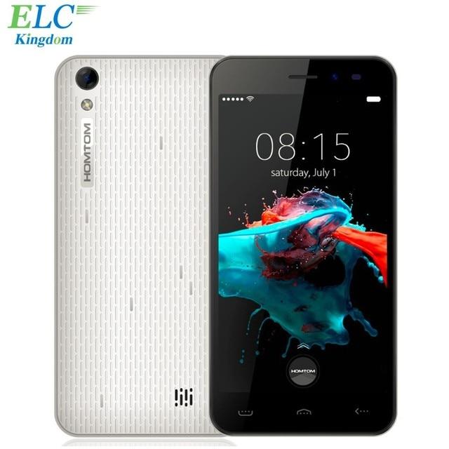 Newest HOMTOM HT16 Android 6.0 Mobile Phone 5 inch MT6580 Quad Core 1GB RAM 8GB ROM Unlocked Dual SIM 3G WCDMA GPS 8MP 3000mAh