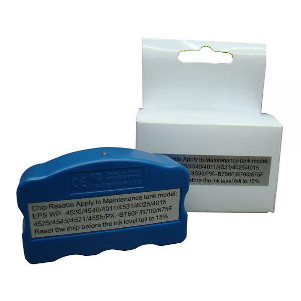 OEM Chip Resetter for Epson T6710/T6711 Maintenance Tank vilaxh for epson p600 chip resetter for epson surecolor sc p600 printer t7601 t7609 cartridge resetter