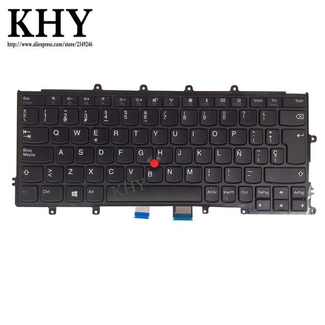 New Original ES EO SP SPA keyboard  For Thinkpad A275 X270 Compatible For X240 X250 X260 FRU 01EP034 01EN558
