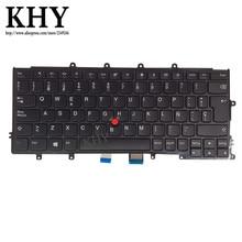 Teclado SPA ES EO SP Original, para Thinkpad A275 X270, Compatible con X240 X250 X260 FRU 01EP034 01EN558