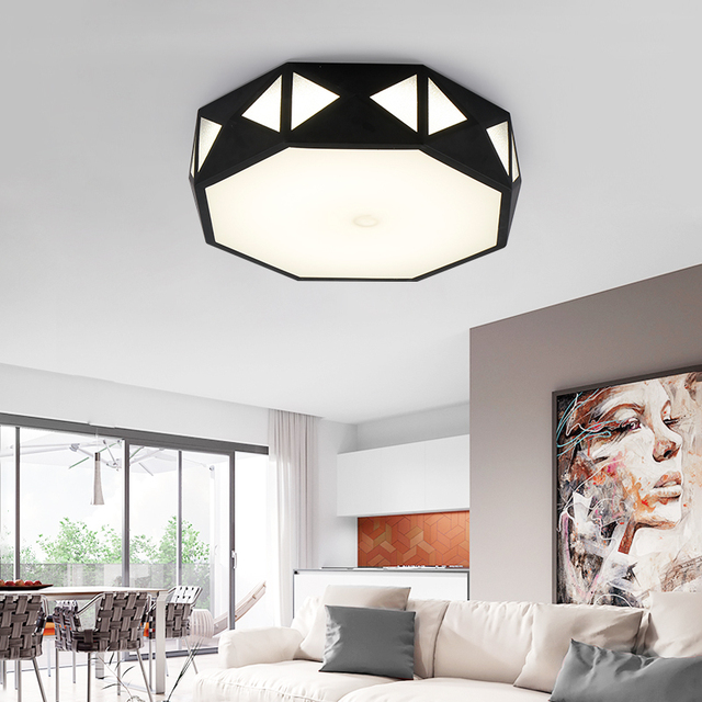 Creative Led Ceiling Lights Modern Minimalist Master Bedroom Lamp Shaped  Led And Romantic Lamps And Lanterns
