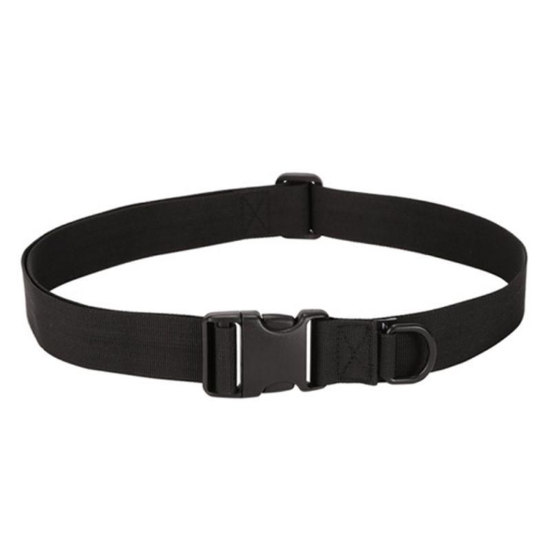 Simple Tactical   Belt   Equipment Wear Bag Riding Inside Nylon Bag Deputy Military Fans   Belt   Fastening Tape For Hot Sale
