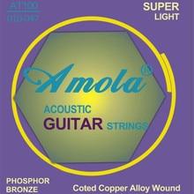 5 sets Elixir .010-.047 NANOWEB 11002 Cuerdas de guitarra acústica partes de la guitarra Envío gratis al por mayor