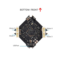 BETAFPV F4 2-4S AIO Brushless Flight Controller No RX BLHELI_S 12A ESC OSD Smart Audio with XT30 Cable for Beta85X Beta75 Pro 2