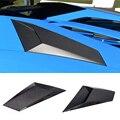750-S Стиль углеродного волокна Впускной порт задний tuyere для Aventador LP700 LP720