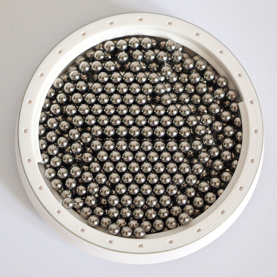 1000 PCS Loose G10 Hardened Chrome Steel Bearing Balls Bearings Ball 2.5mm
