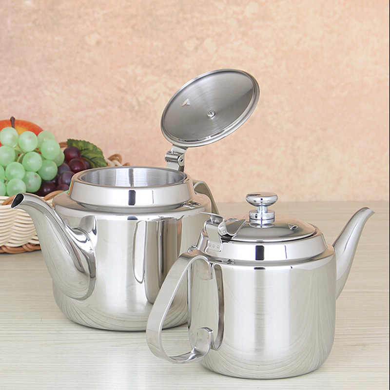 Europe Style Thicker High Quality Stainless Steel Water Kettle With Filter Induction Cooker Use Tea Pot Free Shipping