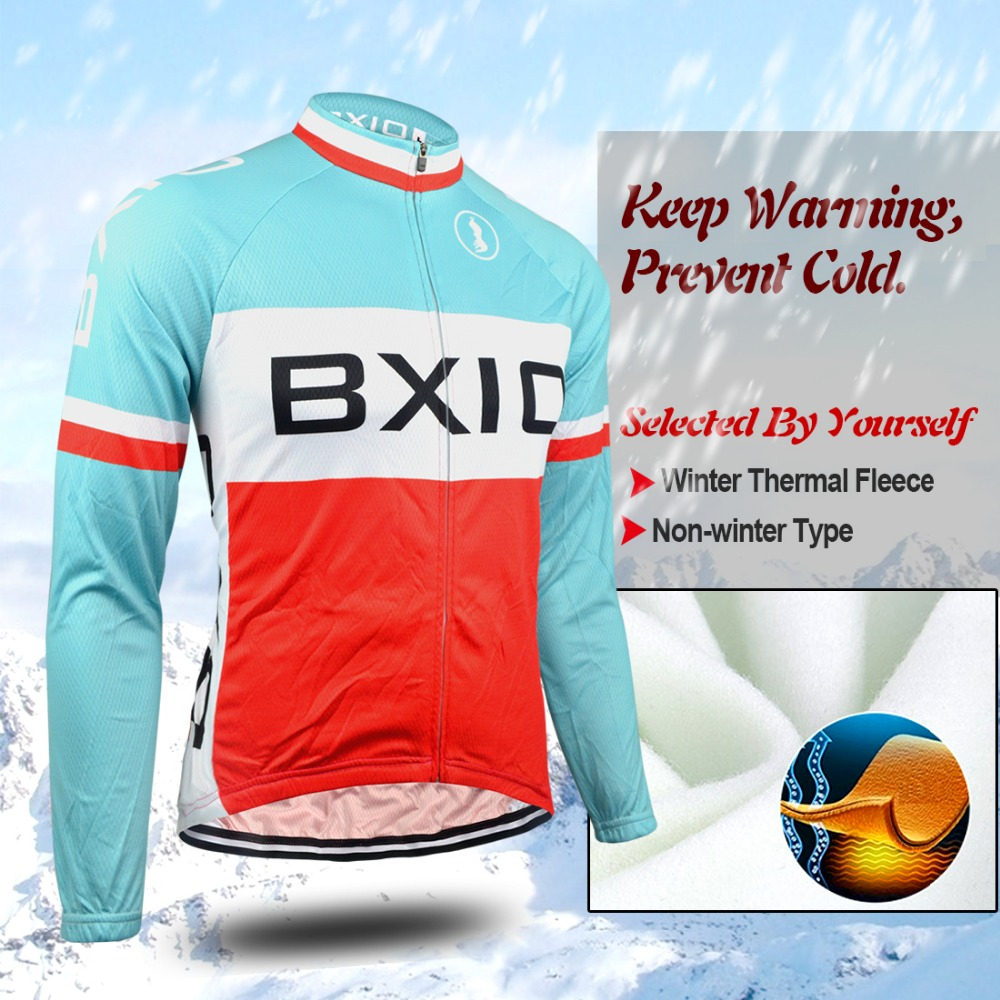BXIO Brand Fredd Winter Thermal Fleeced Bicycle Wear Ropa Ciclismo Warm Cycling Clothing/Cycling Jersey Sets BX-0109RB053