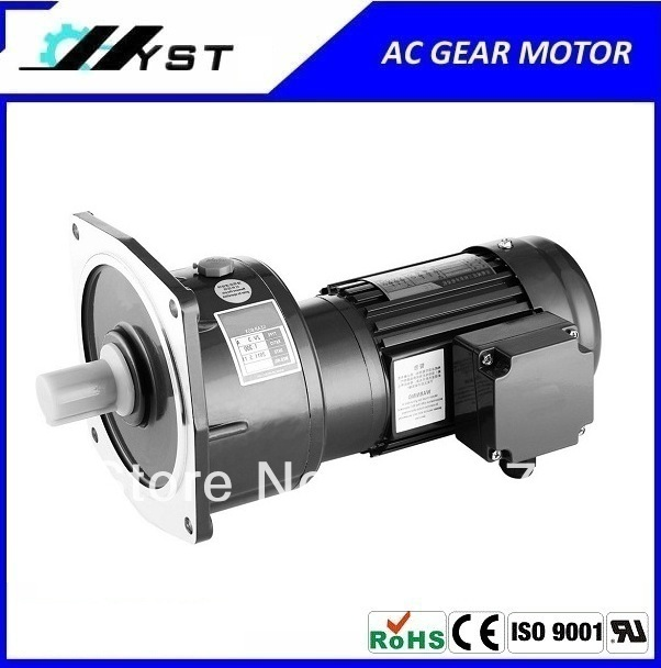 small ac gear motor 1500W 3 phase light duty type with gearbox 3# ratio 3~10