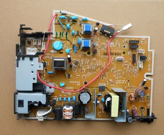 USED-90% new original for for HP P1102 p1106 p1108 p1102w power supply board RM1-7595 110V RM1-7596 220V printer parts on sale brand new inkjet printer spare parts konica 512 head board carriage board for sale