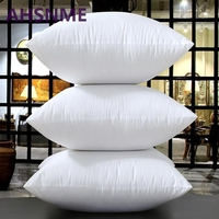 White one Seat Pillow white Mulberry silk filled rectangle memory bedding/hotel/home Pillows 45*45cm/50*50cm/60*60cm/70*70cm