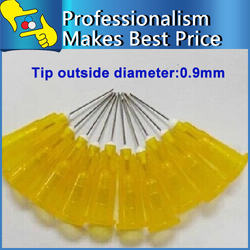 30mm 20G Yellow Transparency Stainless Steel Tip Dispensing Needles - ChengSong Zhao's store