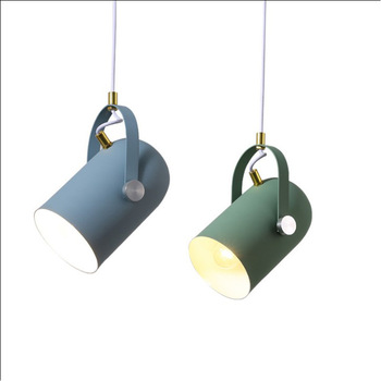 Danish Nordic Modern Minimalist Semicircle Pendant Lamp Iron Pendant Light for Living Room Bar Bedroom Restaurant Lighting Decor