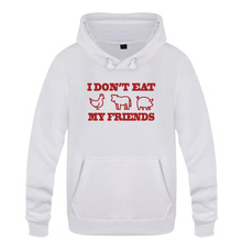 I Don't Eat My Friends hoodie