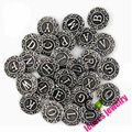 26pcs/lot snap button jewelry metal snap button fits snap button bracelet initial A-Z alphabet letter snap button jewelry 18mm