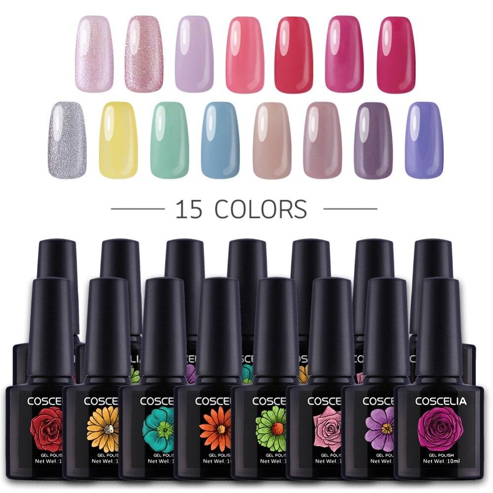 Gel Nail Polish Sale: HOT SALE 80COLORS 10ML Gel Nail Polish Nail Art UV LED Gel