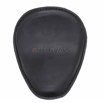 Motorcycle Black brown Leather Solo Seat Sitting plane Cushion for Harley Sportster XL8831200 48 72 Bobber Chopper  For Honda