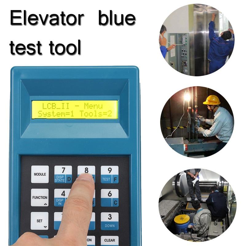 Elevator Server Debugging Tool Elevator Lift Blue Test Tool Conveyor Debugging Tool Double Line LCD Display Key Clearly diamond tools for granite