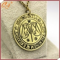 European and American movie peripheral accessories Magic symbol necklace The constellation libra sautoir