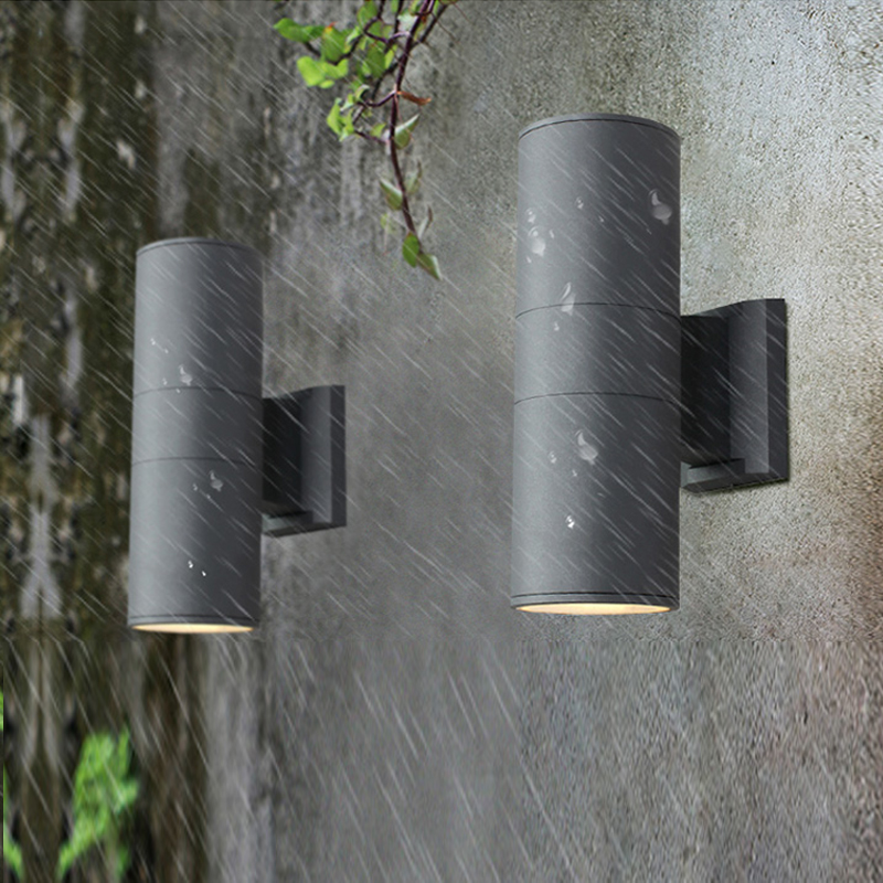 Waterproof Outdoor Wall Light Creative Bedside Lamp Corridor Staircase Balcony Retro Outdoor led Wall Lamp Industrial Wall lamp