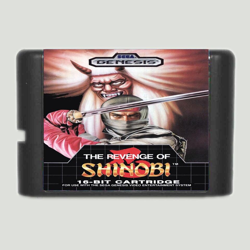 The Revenge Of Shinobi 16 bit MD Game Card For Sega Mega Drive For Genesis