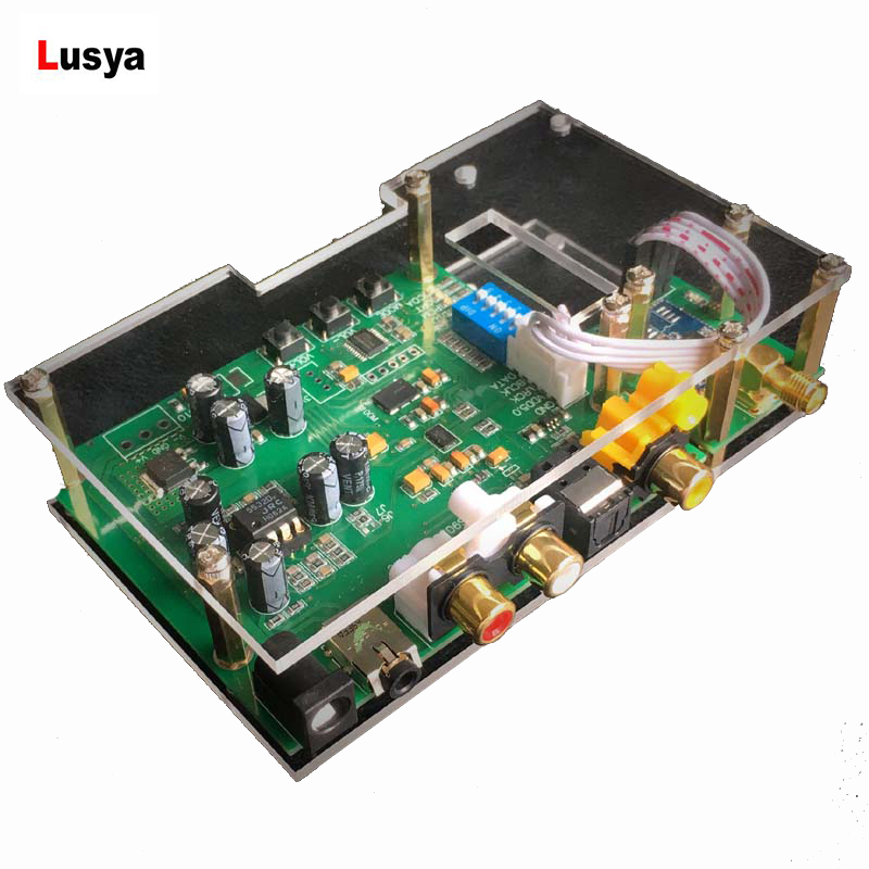 ES9038Q2M carte de décodeur USB Bluetooth DAC I2S SPIDF CSR8675 carte de décodeur de Module APTX-HD au cas où avec antenne