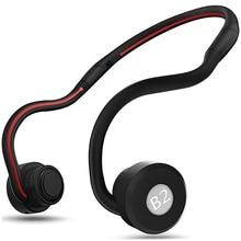 B2 Bone Conduction Wireless Earphones Bluetooth Headphones Stereo Sports Music Handsfree Headset For iphone Samsung huawei цена