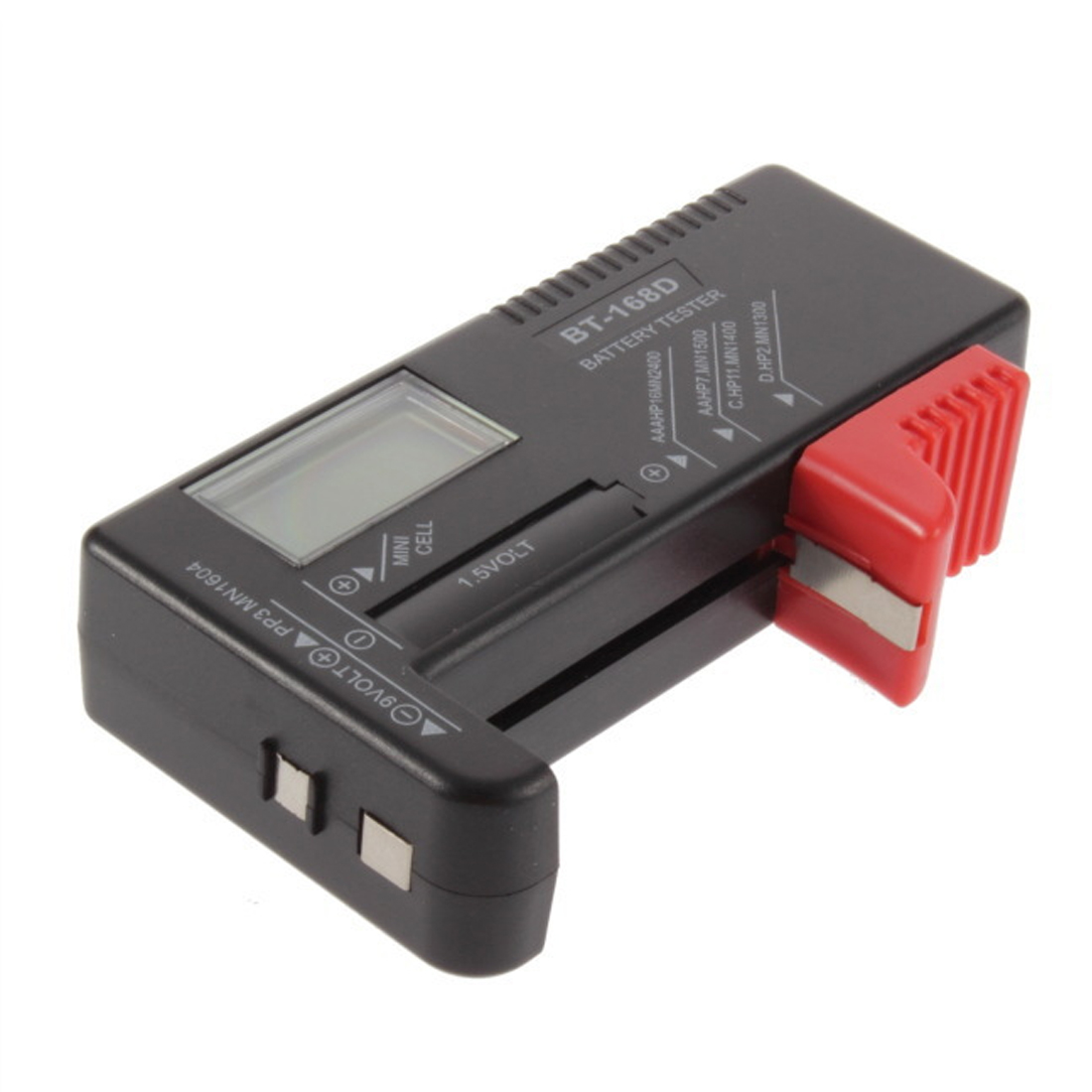 AA//AAA//C//D//9V//Mini Cell Battery Universal LCD Digital Battery Tester US Seller