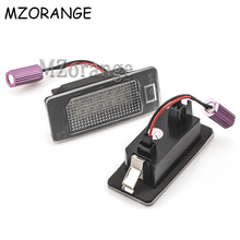 цена Car License Plate Light For Audi A1/A4/A5/A6/A7/Q5/RS5/S4/S5/S6/S7/ TT For VW Golf/Jetta/Passat/Sharan/Touran/Touareg For Skoda