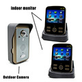 Wifi Video Door Phone 1v2 Draadloze Deurbel Met Videocamera Wireless Door Intercom Door Wifi Camera 2.4G Sonnette