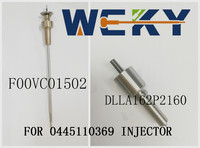 Promotion !Diesel Common Rail Valve F00VC01502 F 00V C01 502 And DLLA162P2160 Nozzle 0433172160 0 433 172 160 For 0445110369